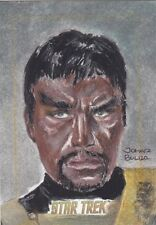 2016 Rittenhouse Star Trek 50th Anniversary 1/1 Sketch Kang the Klingon