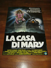 SOGGETTONE  LA CASA DI MARY 1982,Superstition,James Roberson,RENATO CASARO