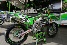 NEW Factory Kawasaki Eli Tomac Replica Graphics Kit KX250cc KX125cc 2T Any Year
