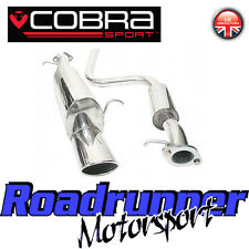 "FD33 Cobra Sport Fiesta MK6 Zetec 1.6i Exhaust System 2"" Cat Back - Resonated"