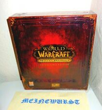 Wow Mist-of Pandaria-Collector 's Edition vacío Empty box World of Warcraft