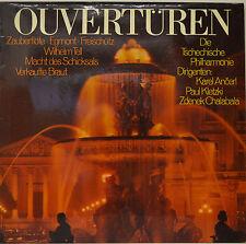 "KAREL ANCERL - PAUL KLETZKI - ZDENEK CHALABALA - OUVERTÜREN 12""  LP (O40)"