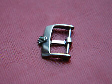 VINTAGE 16MM ROLEX STAINLESS STEEL WATCH STRAP BUCKLE
