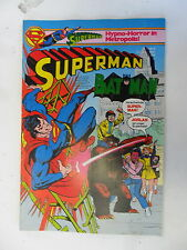 1 x Comic - Superman Batman  mit  Sammel Ecke    Nr.9    (Apr 1980)   Z. 1-2