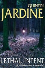 Quintin Jardine Lethal Intent Very Good Book