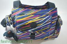 New With Tag KIPLING FAIRFAX MEDIUM SHOULDER AND CROSSBODY BAG - Streamers Print