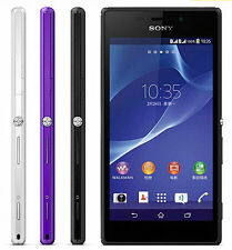 "New White Original Sony Xperia M2 D2303 8GB (Unlocked) Smartphone 4.8"" 8MP 3G"