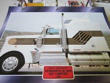 Super Trucks Hauben Zugmaschinen USA Kenworth W900 007 Limited 1980