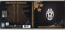 2 Cd JUVENTUS CHRISTMAS SOUNDTRACK 2012 Compilation Calcio NUOVO Natale Football