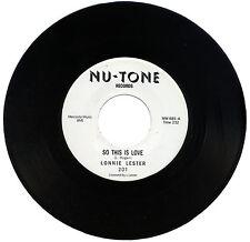 """LONNIE LESTER  """"SO THIS IS LOVE""""   MONSTER R&B FLOORFILLER      LISTEN!"""