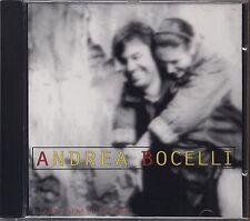 ANDREA BOCELLI - Il mare calmo della sera - CD TV SORRISI E CANZONI COME NUOVO