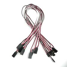 "20"" 500mm 50cm Servo Extension Lead Wire Cord Cable parts for rc car heli E"