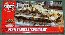 AIRFIX GERMAN KING TIGER PZ KW VI AUSF.B TANK NEW MINT & SEALED 1/76