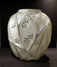 """Phoenix Consolidated French Crystal Line 700 Large Vase, 10 1/2"""""""