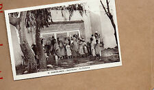 Morocco  Casablanca Derb Sultan Fountain 1930s sepia card unposted B2