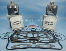 POLARIS 800 CFI SPI STD PISTONS TOP END GASKET KIT 08-10 2008-2010 2009 09 RMK