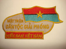 PEOPLE'S FRONT FOR THE LIBERATION OF SOUTH VIETNAM - Nam War VC Patch