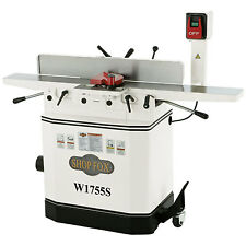 Shop Fox W1755S 6-inch 110V/220V 1-1/2 HP Jointer with Spiral Cutterhead