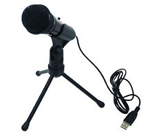 Desktop Studio Speech recording Internet Microphone USB Laptop Skype G158 PC
