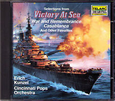 KUNZEL VICTORY AT SEA War and Remembrance Casablanca CD TELARC Battle Of Britain