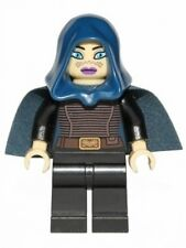 LEGO STAR WARS - Barriss Offee - Dark Blue Cape - MINI FIG / MINI FIGURE