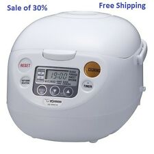 Zojirushi 5.5-cup Rice Cooker & Warmer NS-WAC10WD - Best Price - Free Shipping