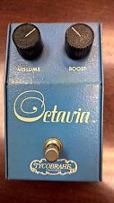 VINTAGE 1970's TYCOBRAHE OCTAVIA OCTAVE FUZZ EFFECT PEDAL RARE ORIGINAL ISSUE