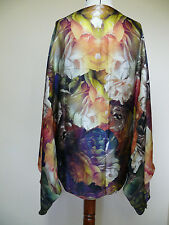 NEW!!!100% Silk Ted Baker Technicolour Bloom Cape Scarf  RRP£99 - BEAUTIFUL!!!