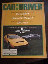 Car & Driver Magazine June 1975 Datsun 280-Z Maserati Ferrari Dino Seville (CC)