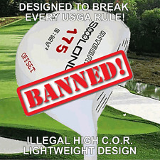 #1 WORLD LONG LITE ROCKET CUSTOM GOLF DRIVER ILLEGAL NONCONFORMING BANNED +30YDS