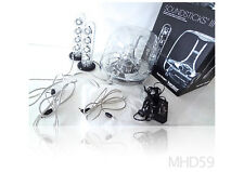 HARMAN KARDON SoundSticks III Speaker System + SUBWOOFER + BOX Mac OS X and PC