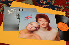 DAVID BOWIE LP PIN UPS (SEE EMILY PLAY-PINK FLOYD) ORIG 1973 EX CON POSTER