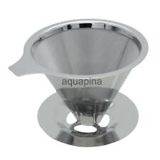 Quality Filter Strainer Solo Coffee Maker Holder Percolator Stainless Steel