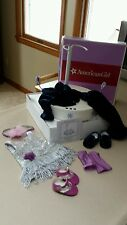 AMERICAN GIRL Rotating SPOTLIGHT STAGE LIGHTS SOUND lot Twilight Flapper Dress