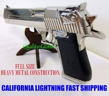 NEW 2016 MIRROR METAL REPLICA 50 CAL DESERT EAGLE MOVIE PROP Pistol Gun Training