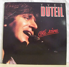 """2 x 33 tours Yves DUTEIL Disques LP 12"""" COTE SCENE - PATHE 7905211 Frais Rèduit"""