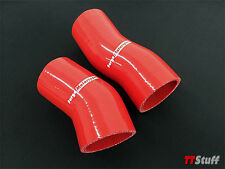 Forge Motorsport - Silicone Turbo Hoses-Lower Intercooler - Audi TT 225 - Red