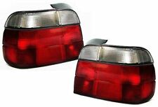 Red white finish tail lights rear lights for BMW E36 COMPACT 93-99