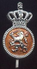 Zilver Pet Embleem KORPORAAL  K.L. / KMAR Nederland - early Dutch MP .