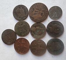 lot 10 pieces 2, 5, 10 Centimes FRANCE (766J)