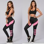1Set 2PCS Sexy Women Workout Elastic Tracksuit Fitness Gym Yoga Sports Top&Pants