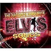 ELVIS PRESLEY - THE NATION'S FAVOURITE ELVIS SONGS - CD (FREE UK POST)
