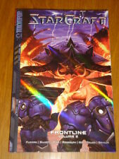 STARCRAFT FRONTLINE VOL 2 TOKYOPOP FURMAN SCI-FI ACTION MANGA GRAPHIC NOVEL