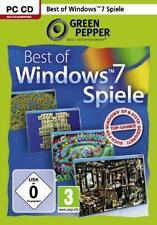 BEST OF WINDOWS 7 SPIELE * 30 VOLLVERSIONEN  Neuwertig