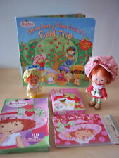 Lot Of Vintage Strawberry Shortcake + Apple Dumplin' Flat Hands Plus Extras