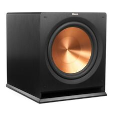 "Klipsch Speakers R-112SW SUBWOOFER. OPEN BOX  Authorized Dealer. 12"" SUB BLACK!!"