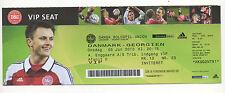 Original Ticket   05.06.2013   DÄNEMARK - GEORGIEN  !!   SELTEN