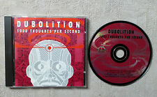 "CD AUDIO INT/ DUBOLITION ""1000 THOUGHTS PER SECOND"" CD ALBUM 9T / TP9 RECORDS"