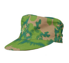 WWII GERMAN PALM TREE CAMO SPRING AND FALL REVERSIBLE FIELD CAP SIZE L-34354