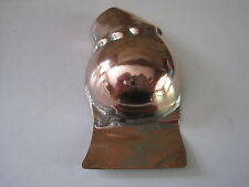 ANTIQUE VICTORIAN COPPER ENTREE' / GARNISHING MOULD - HAM WITH FRILLED CUFF